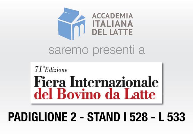 Fiera di cremona 2016 accademia italiana del latte for Fiera elettronica calendario 2016